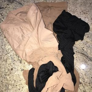 Accessories - 3 Lot Bundle of Nylons L